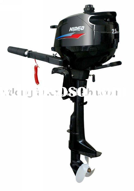 2.5hp outboard engine with 4 stroke