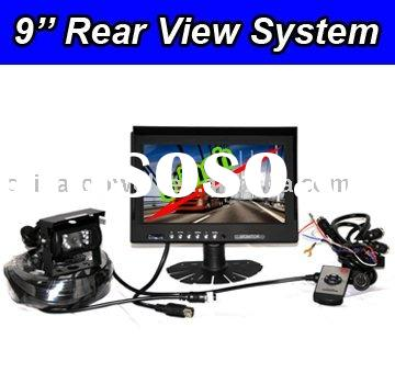 2 CH Car Back Up System with 9'' LCD Monitor