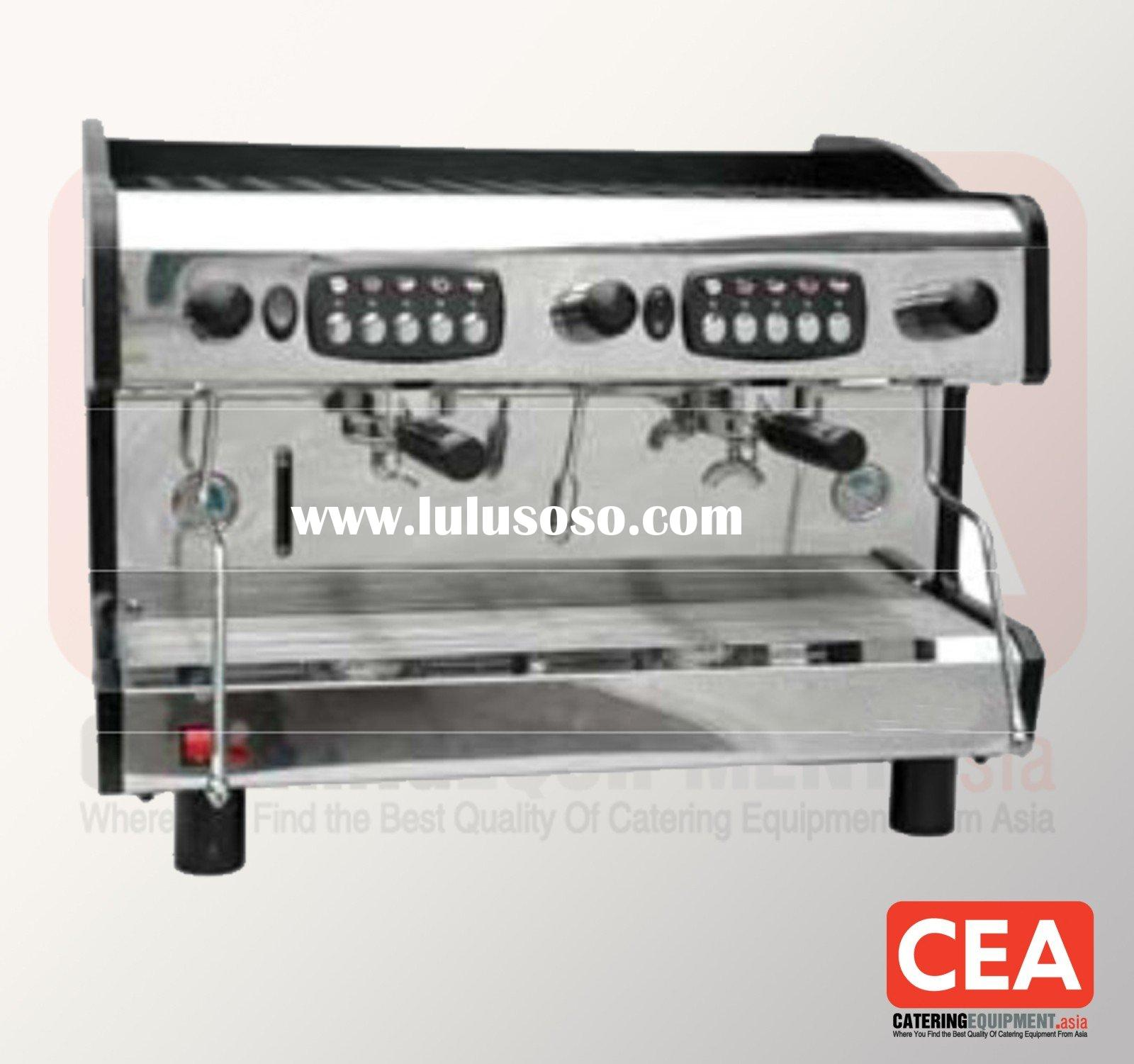 2 Group Commercial Traditional Espresso Coffee Machine