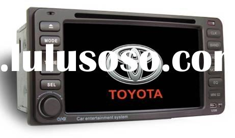 2 din Car DVD Player with GPS, RDS, Dual-Zone, Steering Wheel Control,Digital Panel for TOYOTA VIOS(
