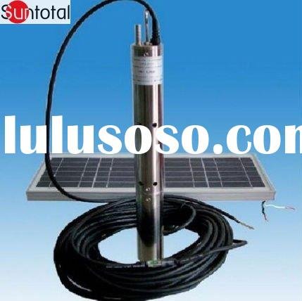 31V DC Submersible Solar Water Pump for agricultural irrigation