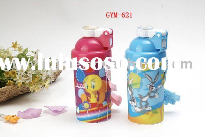 3D lenticular plastic water bottle for kids