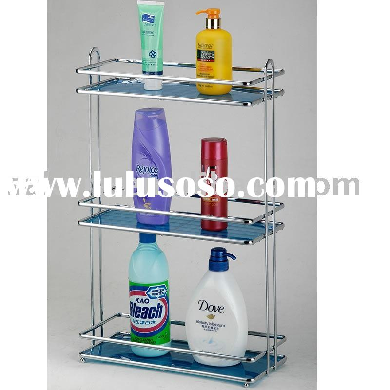 3 layer Metal Bathroom Rack,Metal Bathroom shelf,Bathroom Stand,shelves