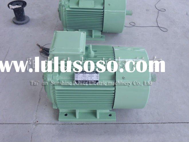 50kW Brushless PM Motor for Vehicle With Drive