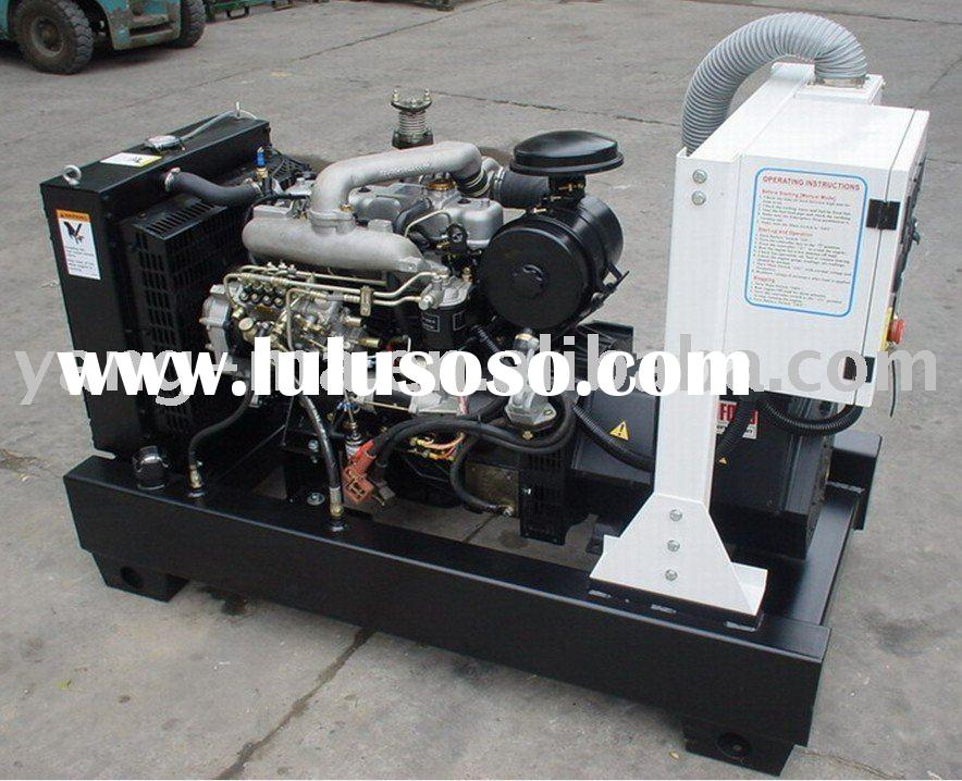 6KW-30KW, water cooled kubota engine power diesel generator set