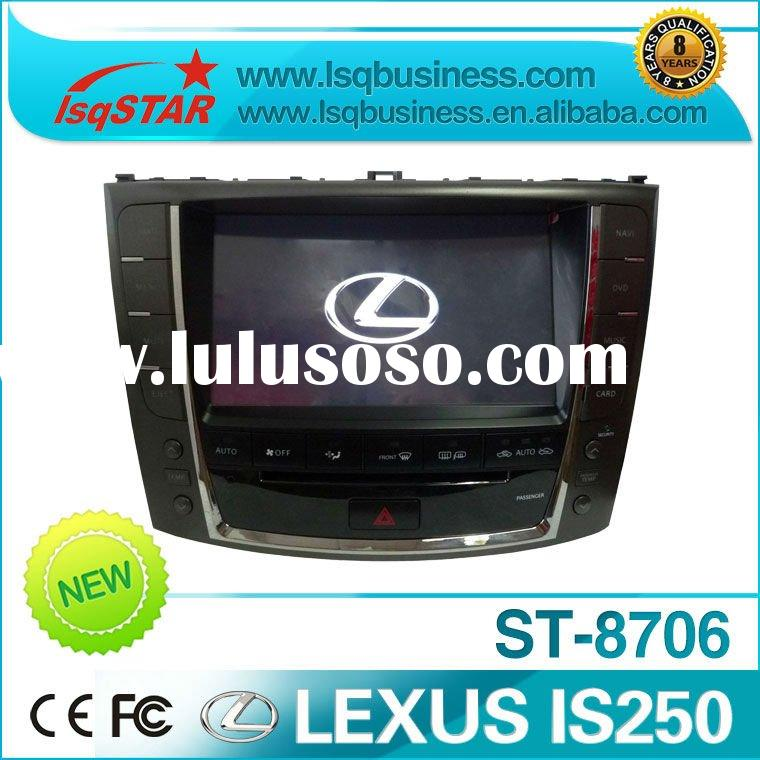 7 inch Lexus IS250 car dvd player with GPS Navigation system, suitable for 2008-2011 year!