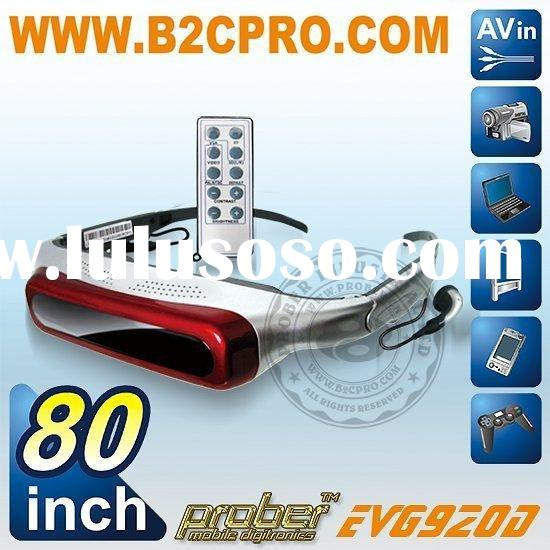 80 inch 3D hd Video glasses
