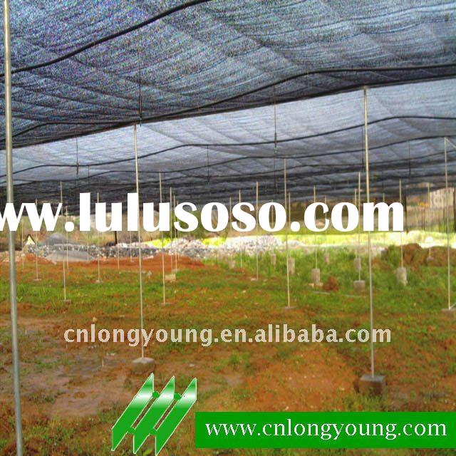 8m Mesh Plastic Shade Tunnel Green House Structure Agriculture