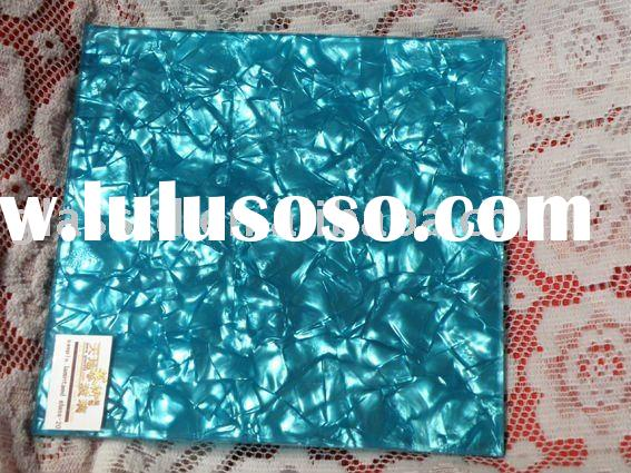 8mm-24mm glass laminated decorative with blue film