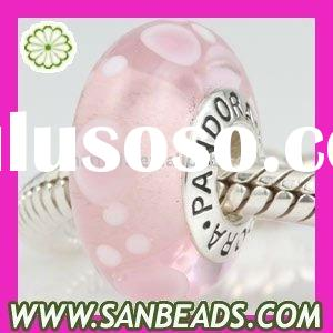 925 Sterling Silver Core Lampwork Glass Beads Wholesale