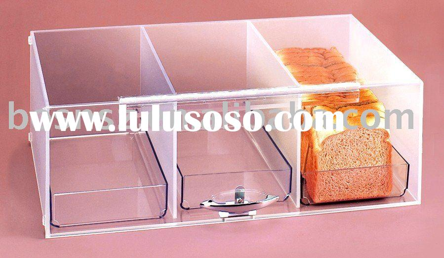 Acrylic Bakery Case,Plexiglass Cookie Box,Perspex Pastry Display