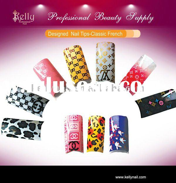 Acrylic Designs nail tips