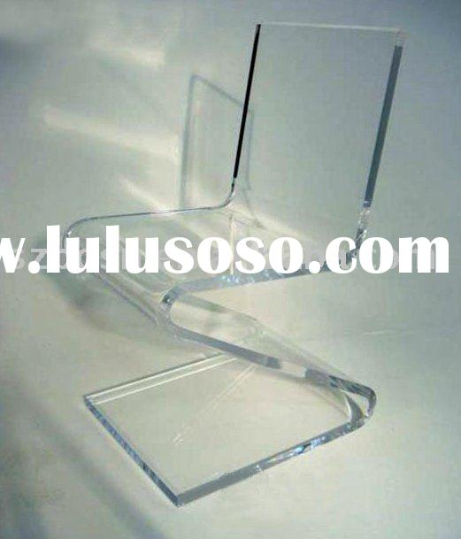 Acrylic Dinning Chair,Perspex Z Chair,Plexiglass Furniture