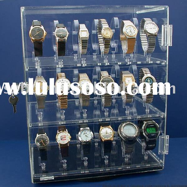 Acrylic Display Case, Perspex Watch Display, Plexiglass Watch Holder