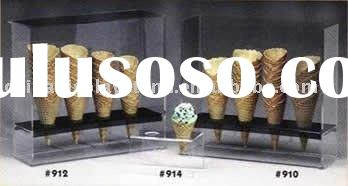 Acrylic ice cream cone display case