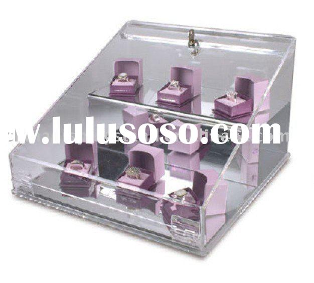 Acrylic locking display case,acrylic countertop display case, acrylic showcase