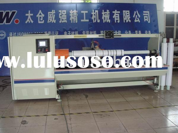 Adhesive/masking/double-side/bopp tape log roll cutting machine
