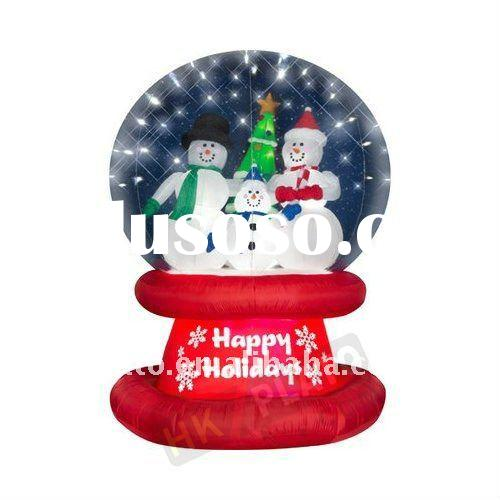 Airblown snow globe airblown snow globe manufacturers in for Outdoor christmas globes