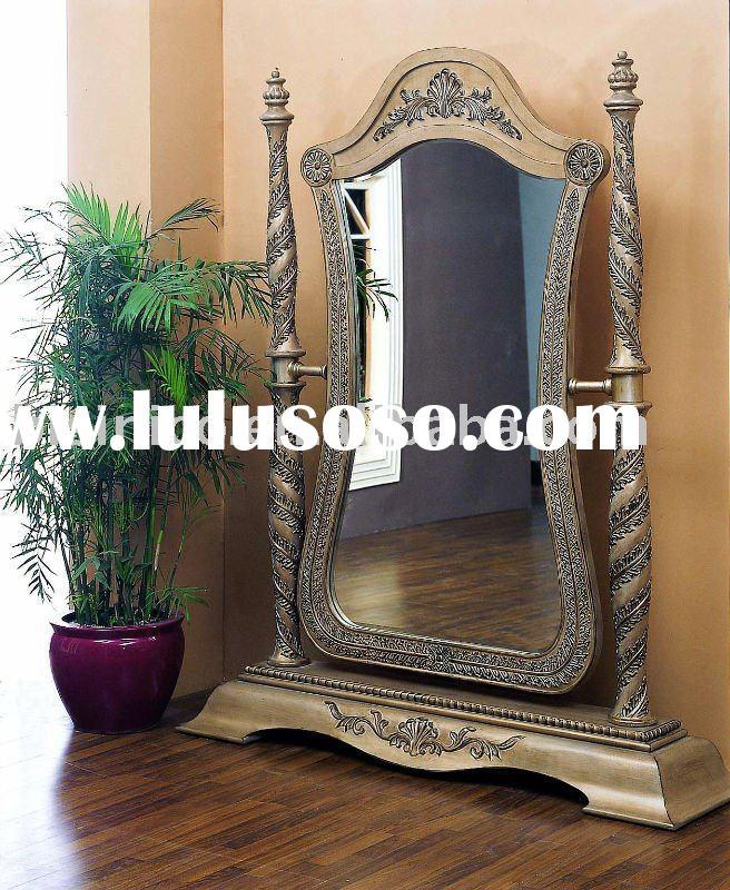 American floor mirror,American bedroom sets,antique furniture