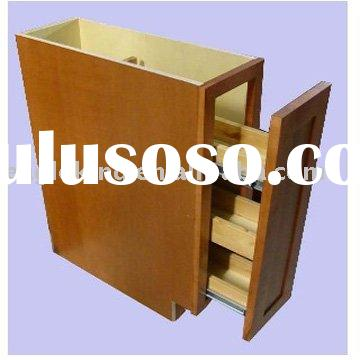 American style solid wood spice unit cabinet for kitchen