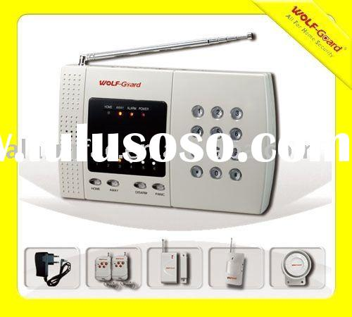 Auto-dial Landline Alarm System with LCD display