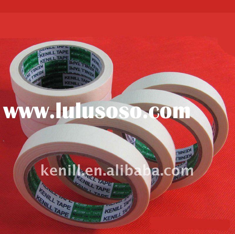 Automotive masking tape for spray-paint