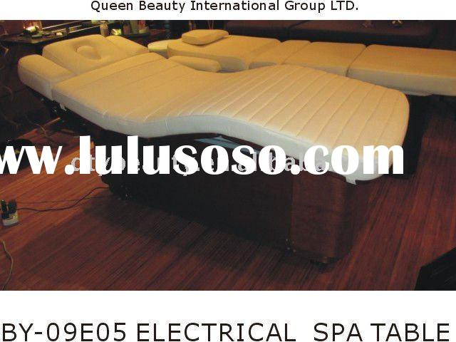BY-09E05 Wooden Electrical SPA BED, SPA TABLE, MASSAGE BED, MASSAGE TABLE, Salon equipment.