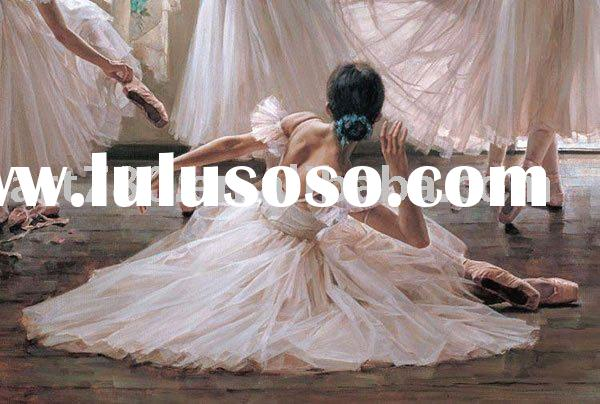 Ballet oil painting,Dance oil painting