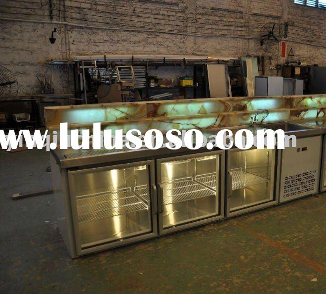Bar refrigerated counter (with Marble)