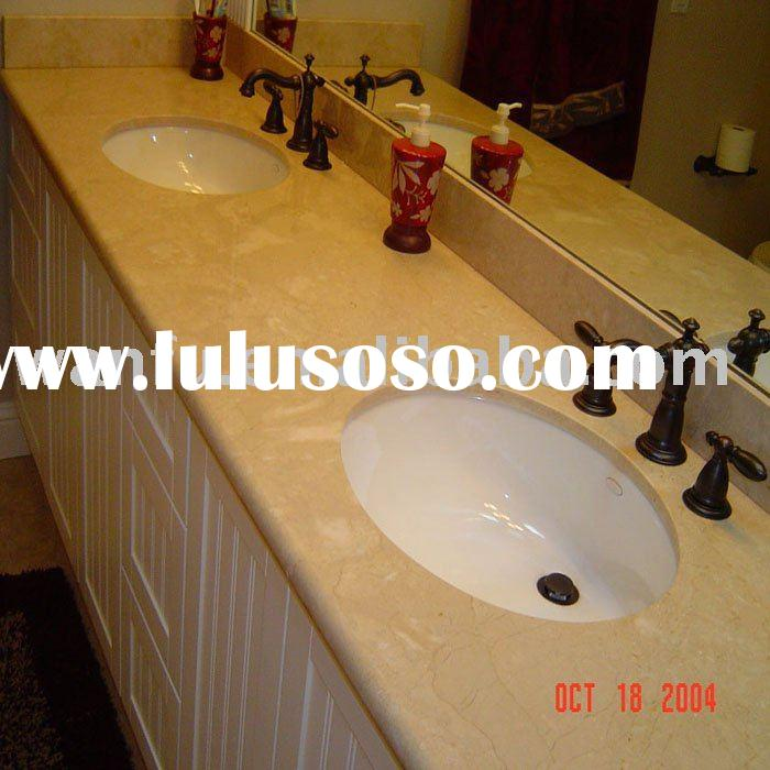 Bathroom Marble Counter tops with China Sink