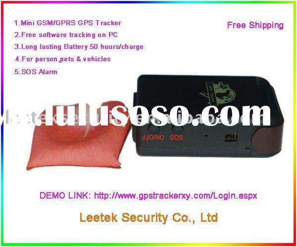 CAR Person and Pet MINI GPS Tracker TK102 ( LS-GT201)