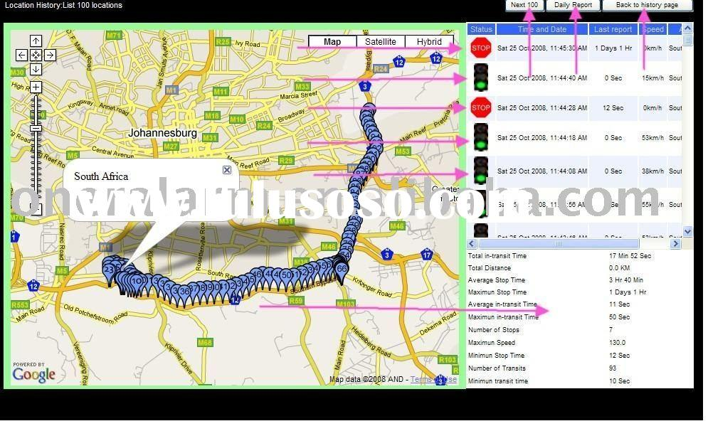 Car gps tracker,GPS tracking software