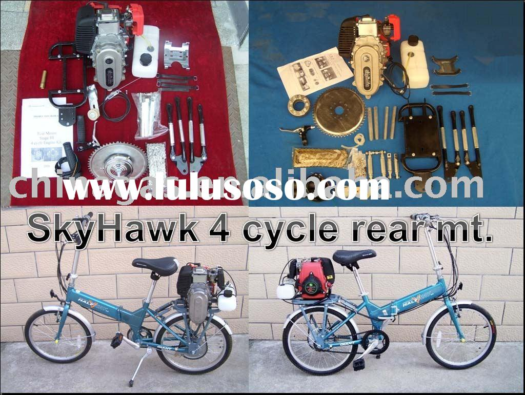China GAS SkyHawk Brand 4 cycle Bicycle Gas Engine Kits