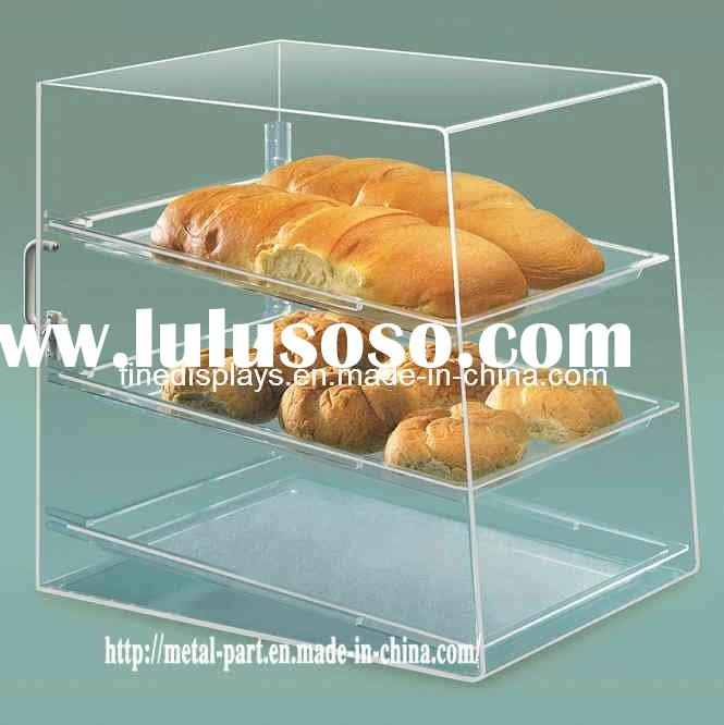 Clear Acrylic Bakery Cake Display Cases (AD-A-0034)