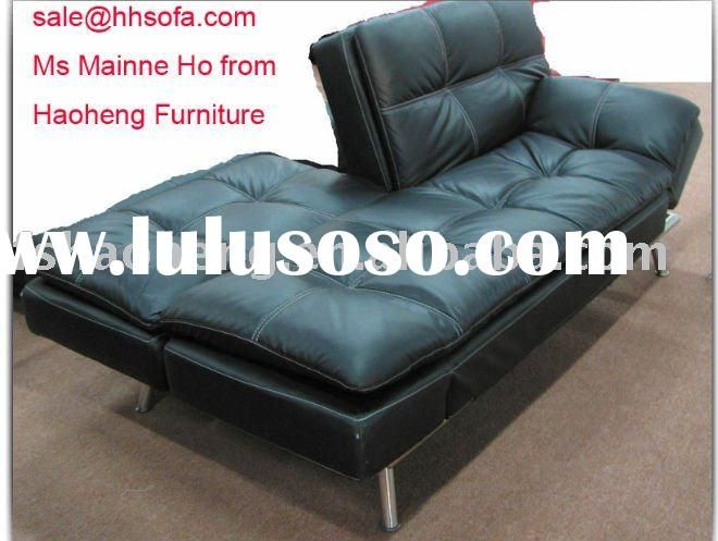 Contemporary modern Italian design Half Leather Sofa Bed