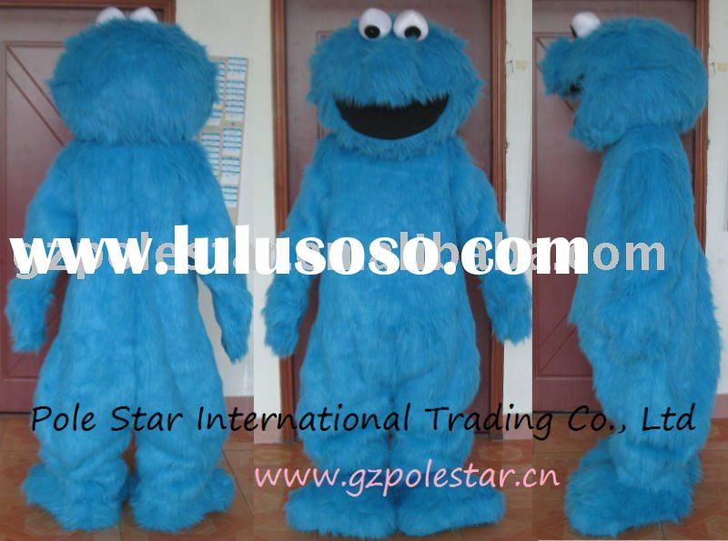 Cookie Monster Costume/Long Fur Mascot Costumes
