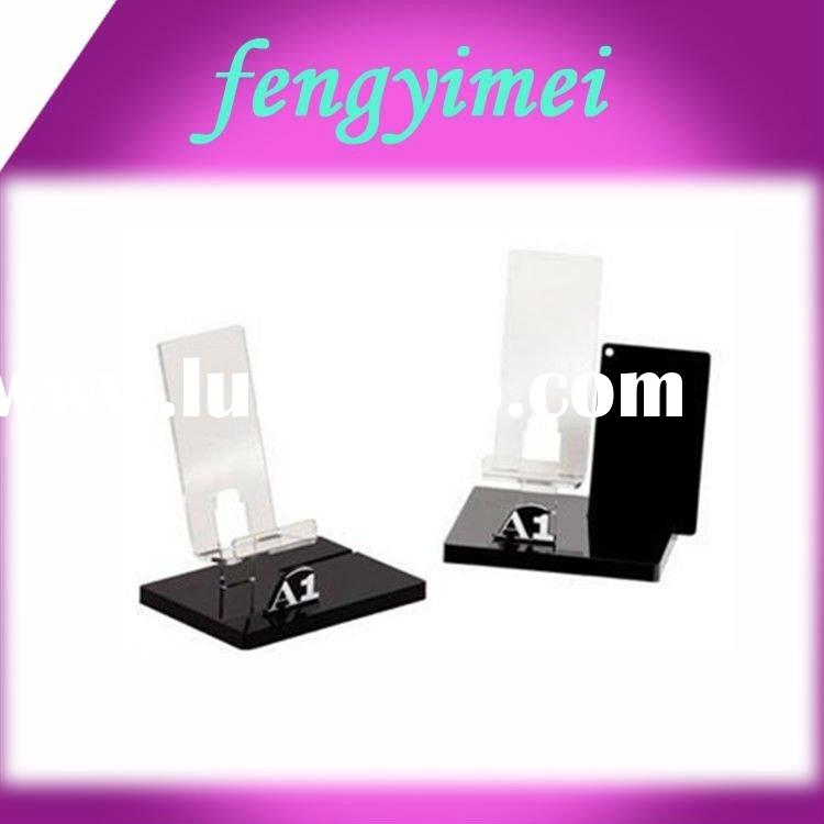 Cool Acrylic Mobile Phone Display Cases for Large Telephones with Kingly Feelings
