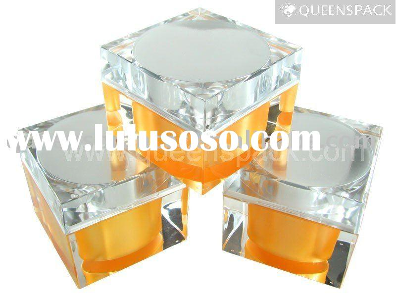 Cosmetic packaging cream jar(container)