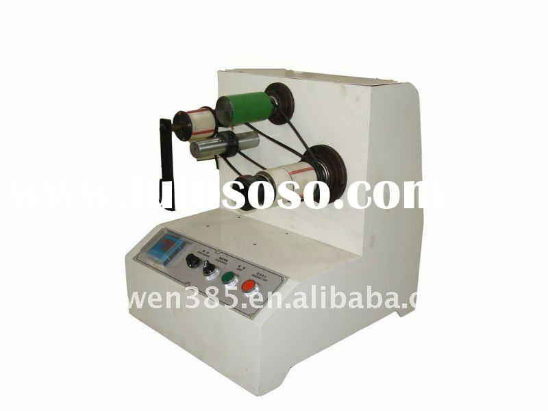 DC-motor driven rewinding shaft Adhesive Tape Mini Rewinding Machine