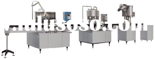 DG18-18-6Washing Filling Sealing Production Line For Pour water, Fruit juice , Wine, etc