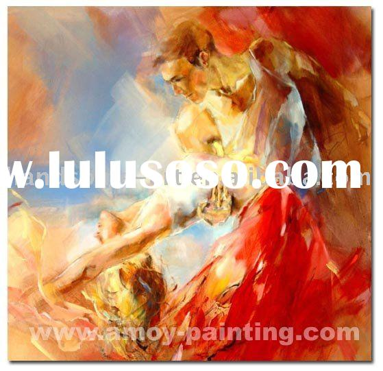 Dancing Oil Painting,dance-001