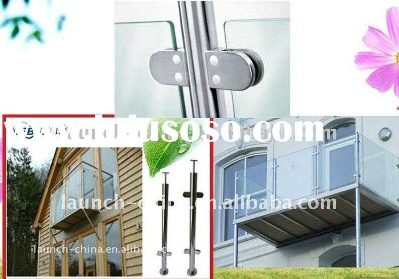 Decorative stainless steel balcony handrail system