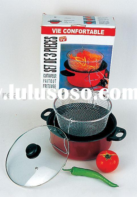 Deep Fryer pan, Kitchen Appliance, Home Deep Fryer, Model:11168