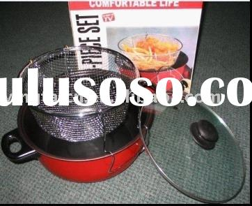 Deep fryer pan