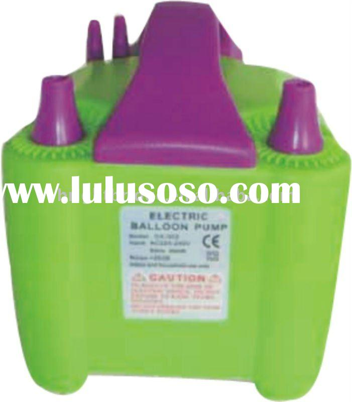 Double-nozzle Electric balloon air pump/ blower/inflator