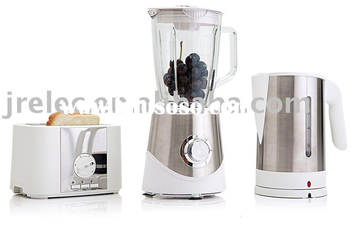 Electric Kettle/Electric Toaster/2 Slice Toaster/Blender/3 in 1 Breakfast/Morning Set 3 in 1