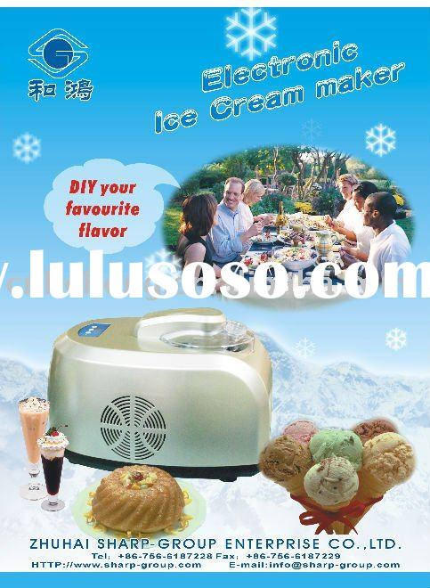 Electronic Full Automatic Ice cream maker
