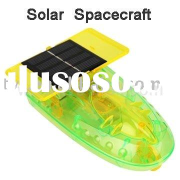 Energy-saving Solar Spacecraft Car Educational Assembly DIY Kit