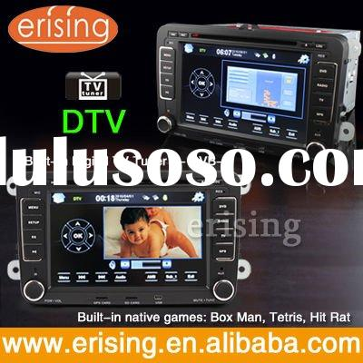 Erisin 2 DIN 7'' HD Touch Screen Auto Stereo BT DVB-T USB SD DVD GPS Radio for VW SA