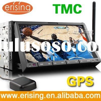 "Erisin 7"" 2 din TMC auto stereo with GPS DVB-T Dual Zone Copy CD PIP Bluetooth"